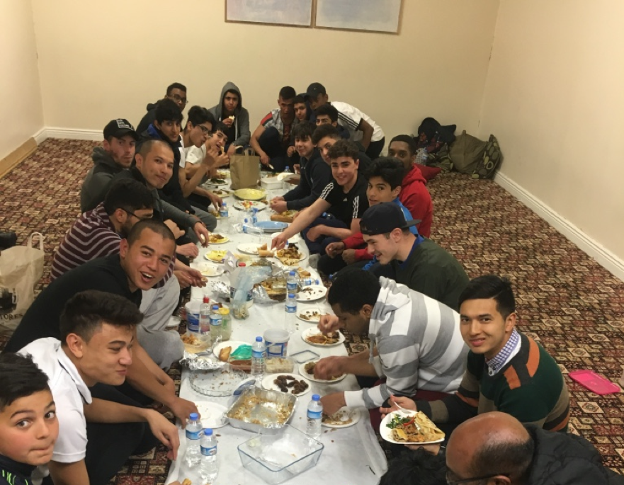 Ramadan Iftar with the Youth